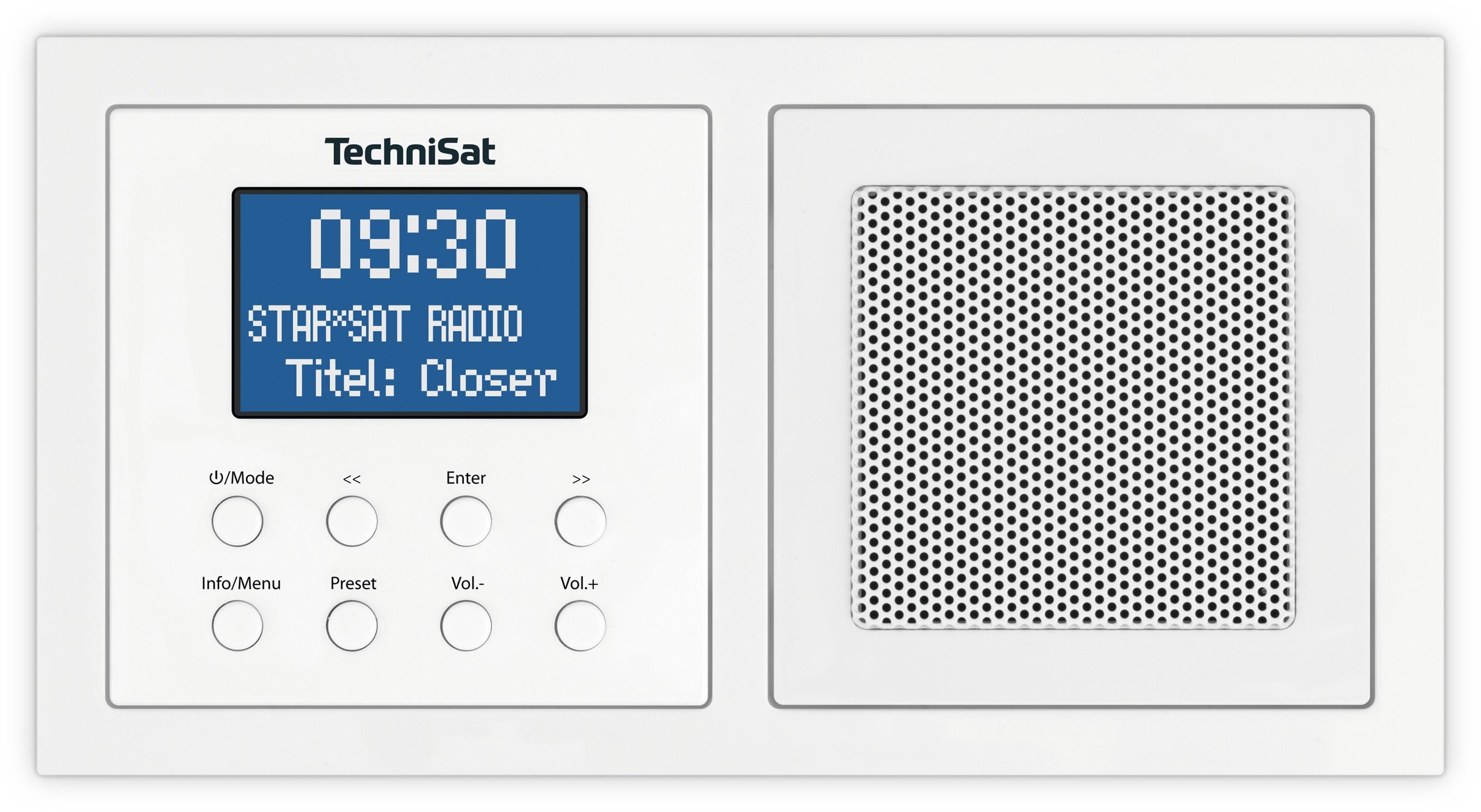 TechniSat UP1 DAB radio Wit
