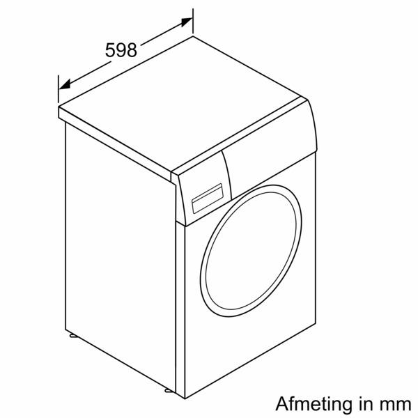 Siemens WM14LPH0NL Wasmachine Wit