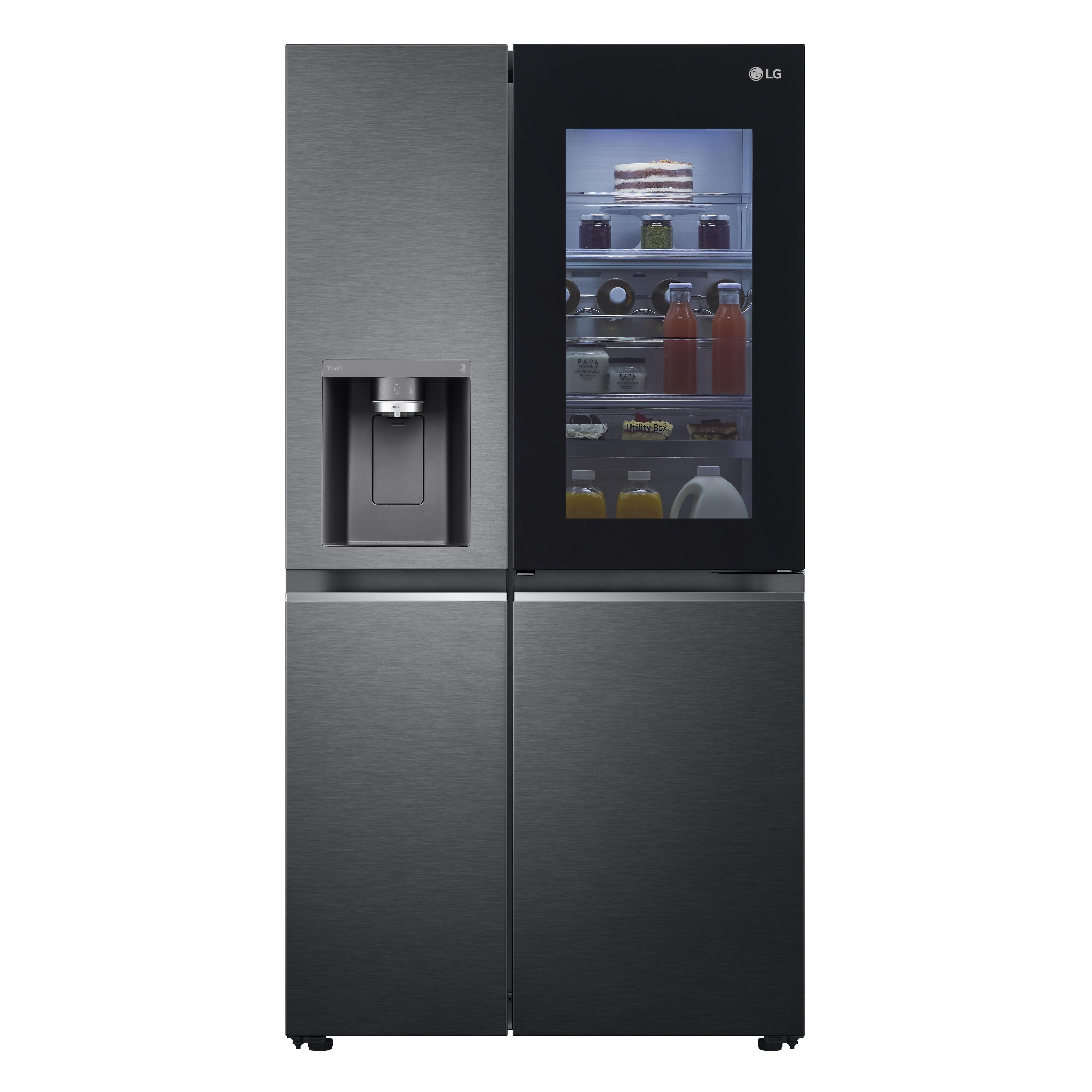 LG GSXV90MCDE Amerikaanse koelkast Zwart