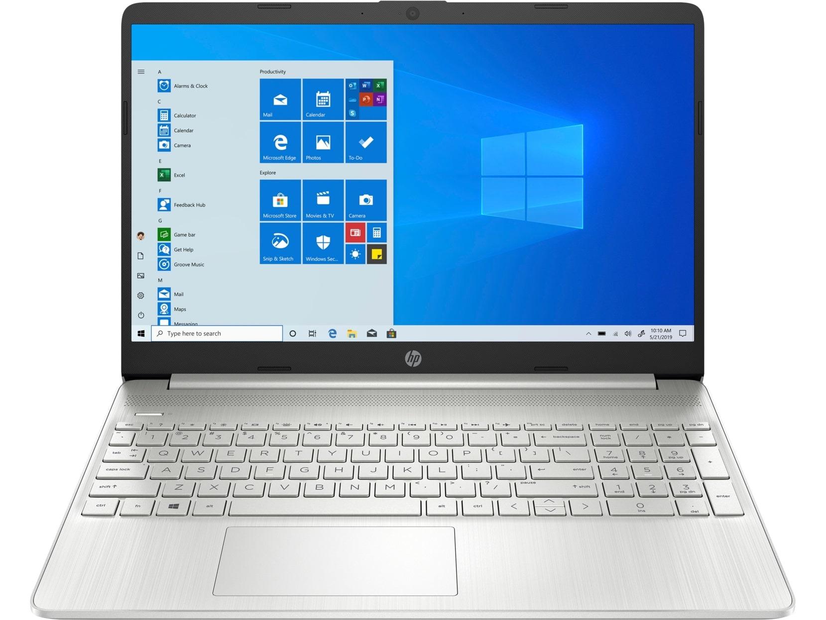 HP 15s-eq2212nd - 16 GB RAM, 512 GB SSD, 15.6 inch scherm