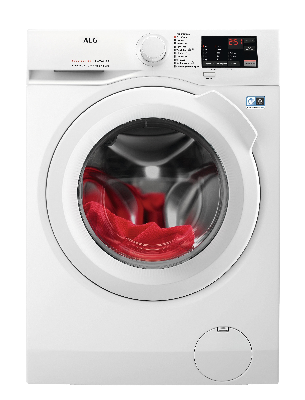 AEG L6FBN8600 Wasmachine Wit