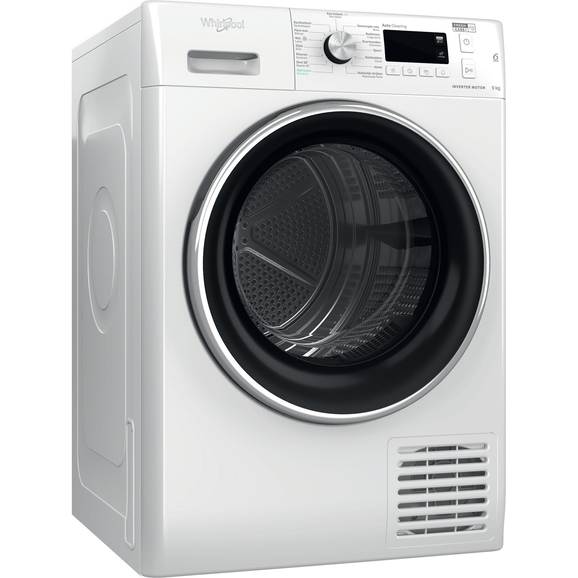 Whirlpool FFT M11 9X2BXY BE Warmtepompdroger Wit