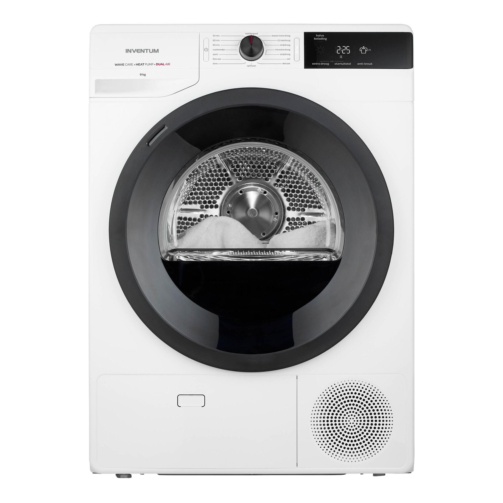Inventum VDW9001W Warmtepompdroger Wit
