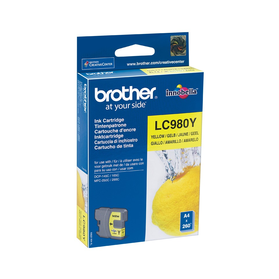 Korting Brother LC 980Y inkt