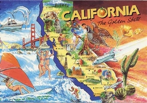 I wish I was 'Going to California'