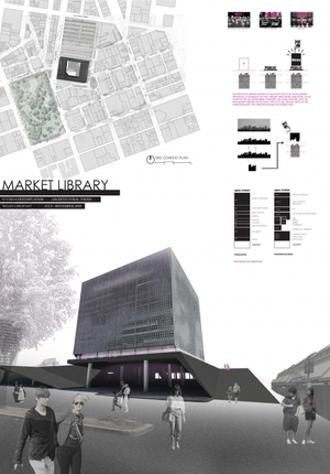 Architectural Thesis: Market Library