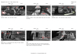 Storyboard for Beneath HILL 60