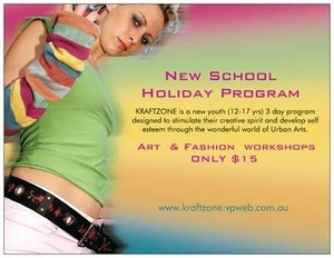 KRAFTZONE TEEN School Holiday program