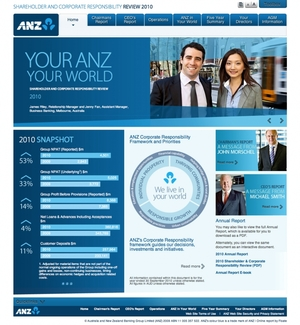 ANZ Shareholder and Corporate Responsibility Review