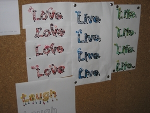 Live, Love, Life, Laugh