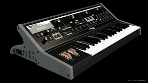 Moog Little Phatty 3D model
