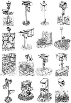 100 Letterboxes