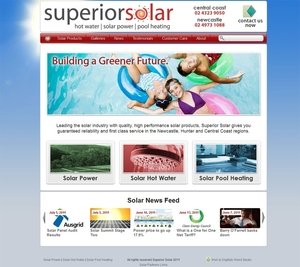 Superior Solar Website