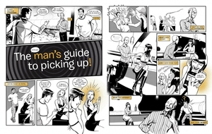 """""""Man's guide to picking up"""""""