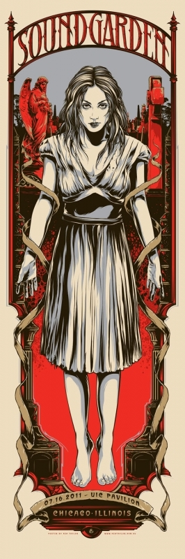 Soundgarden tour poster