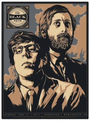 Black Keys tour poster