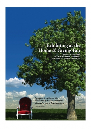 Home & Giving Fair Exhibitor Sales Brochure