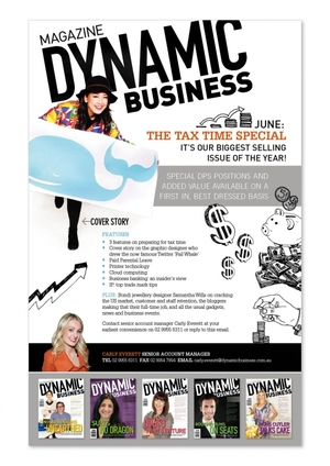 Dynamic Business magazine sales eflyer