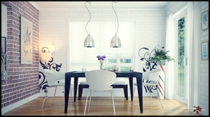 Dining Interior design and visualization