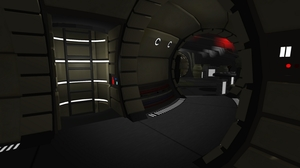 Real-Time Unity Engine - Millennium Falcon