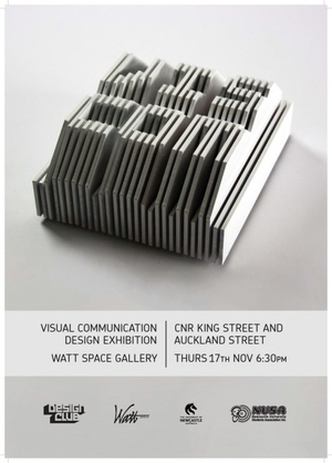 2011 Visual Communication Exhibition Poster