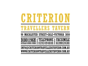 Criterion Travellers Tavern