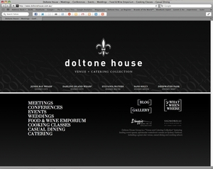Doltone House Website
