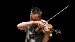 Nigel Kennedy in Rehearsal