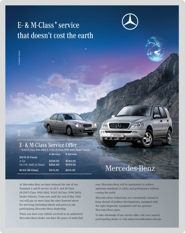 Mercedes benz lifestyle pointb advertising design for Mercedes benz strategic plan