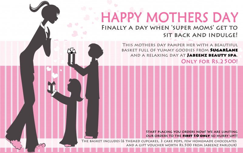 About The Project. Created A Flyer For Mothers Day ...
