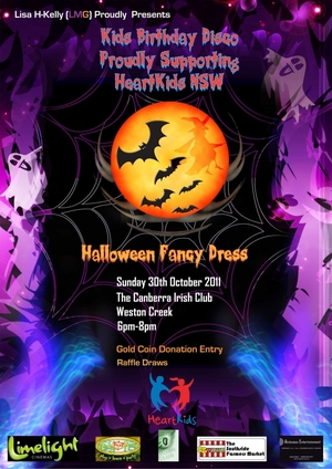 Lisa H-Kelly (LMG) Proudly Presents Kids Birthday Disco Proudly Supporting Heartkids NSW