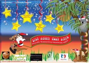 Lisa H-Kelly (LMG) Proudly Presents Kids Aussie Disco Proudly Supporting Heartkids NSW