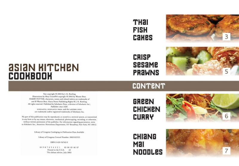 Asian Kitchen Cookbook layout design - Hilary Law Portfolio - The Loop