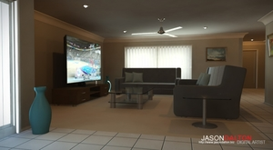 Online portfolio - Architectural Visualization