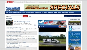 Online editor: Caravan World website