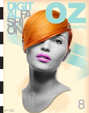 OZ Graphix Magazine cover.