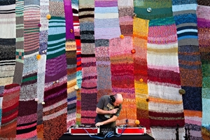 Knitted Backdrop @ The Finders Keepers (RK)