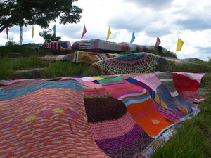 Knitted Installation @ Good Vibrations Festival (RK)
