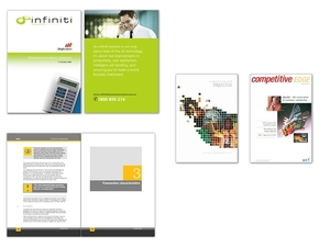 Graphic design for print