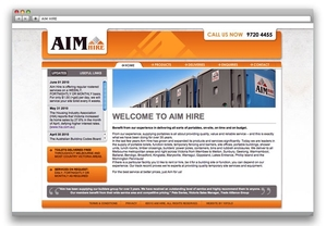 AIM Hire Website