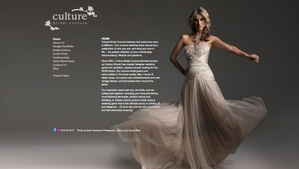 Culture Bridal Website