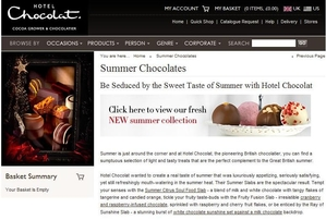 Hotel Chocolat Press Release