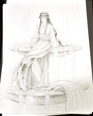 Drawings from Aussiecon4