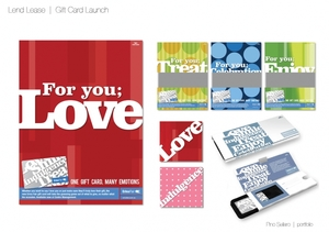Lend Lease  |  Gift Card Launch