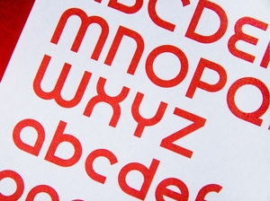 Triple J custom typeface