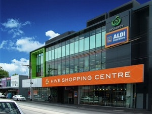 Hive Shopping Centre Branding