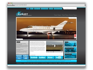 Ausjet Aviation Group Website