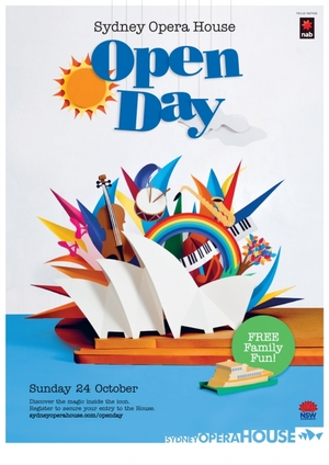 SOH Open Day poster