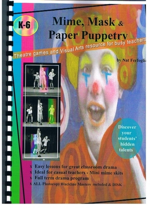 Mime, mask & paper puppetry handbook
