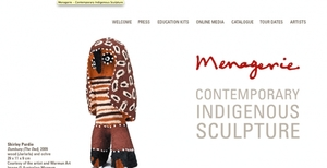 Menagerie exhibition website